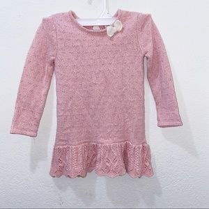 Cute pink dress for girl